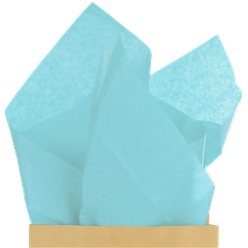 Light Blue Tissue Paper - 50cm