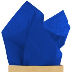 Dark Blue Tissue Paper - 50cm