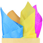 Multi Coloured Tissue Paper - 50cm
