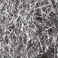 Metallic Silver Shredded Tissue Paper