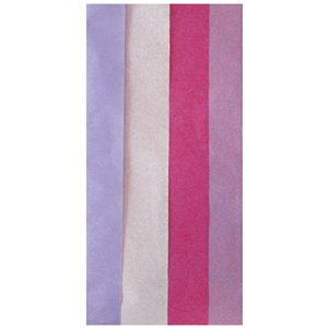 Pink Mix Tissue - 6 sheets