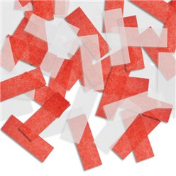 Piñata Confetti - Red and White