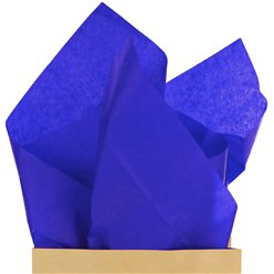 Royal Blue Tissue Paper - 50cm