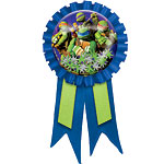 Ninja Turtles Award Ribbon