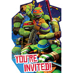 Ninja Turtles Party Invitations