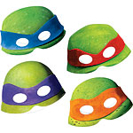 Ninja Turtles Card Masks