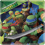 Ninja Turtles Plates - 23cm Paper Party Plates