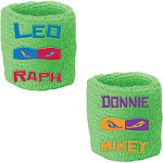 Ninja Turtles Sweat Bands