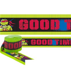 Ninja Turtles Crepe Streamer - 9m