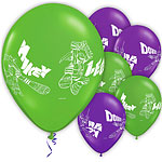 "Ninja Turtles Balloons - 11"" Latex"