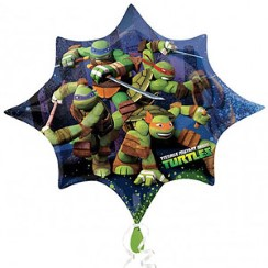 "Ninja Turtles Supershape Balloon - 35"" Foil"
