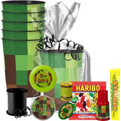 TNT Party Gift Cup Kit For 8