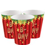 TNT Party - 266ml Paper Party Cups