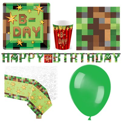 TNT Party Pack - Deluxe Pack for 8