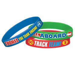 Thomas the Tank Engine Rubber Bracelets