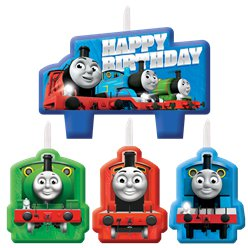 Thomas the Tank Engine Birthday Candles