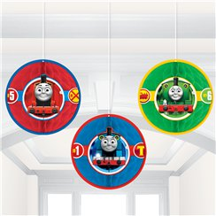 Thomas the Tank Engine Honeycomb Decoration