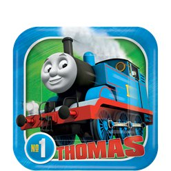 Thomas the Tank Engine 18cm Paper Party Dessert Plate
