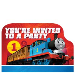 Thomas the Tank Engine Postcard Invitations