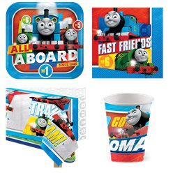 Thomas The Tank Engine Party Pack - Value Pack For 8