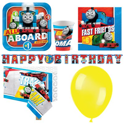 Thomas The Tank Engine Deluxe Party Pack