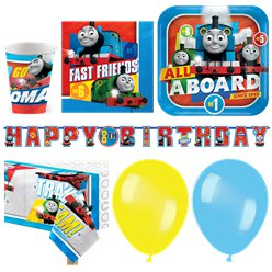 Thomas The Tank Engine Party Pack - Deluxe Pack for 16
