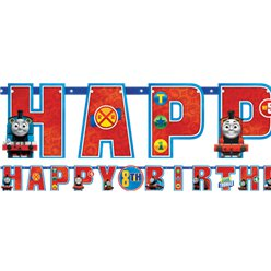Thomas the Tank Engine Jumbo Add An Age Letter Banner