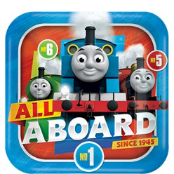 Thomas the Tank Engine Paper Plate - 23cm Paper Party Plate