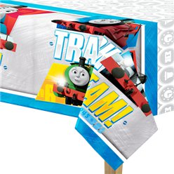 Thomas the Tank Engine Plastic Tablecover - 1.4m x 2.6m