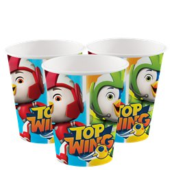 Top Wing Paper Cups - 250ml