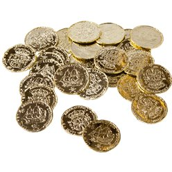 Gold Colour Coins