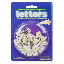 Glow In The Dark Magnetic Letters