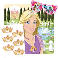 Princess Stick the Crown Game