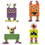 Wooden Flexi Monsters