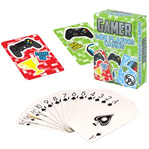 Gamer Mini Playing Cards