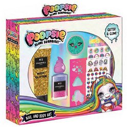 Poopsie Nail & Body Art Set