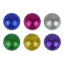 Metallic Squeeze Ball - 7cm