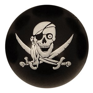 Pirate Skull Bouncy Ball