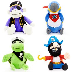 Plush Pirate Assortment
