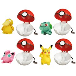 Pokemon Pop Action Pokeball with Figure