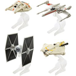 Star Wars Hotwheels Starship Vehicles - Asst