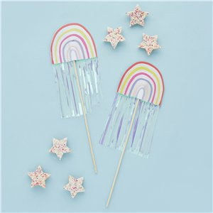Rainbow Party Wands