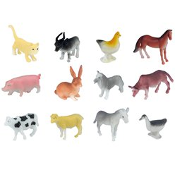 Toy Farm Animal - Assorted
