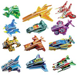 Spaceship Puzzle Assorted