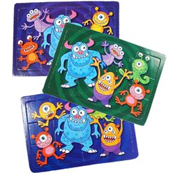 Monster Jigsaw Puzzle - 10cm
