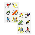 Football Temporary Tattoos Sheet