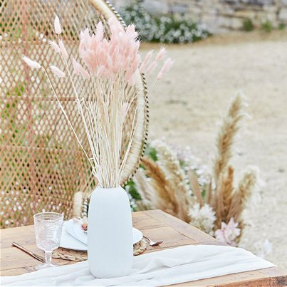 A Touch Of Pampas Blush Pink Dried Bunny Tail Grass