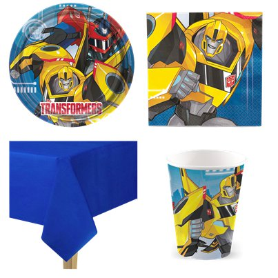 32 TRANSFORMERS Party Hats Birthday Supplies Favors Paper Cone Optimus Prime