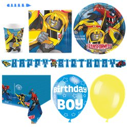 Transformers Party Pack - Deluxe Pack for 16