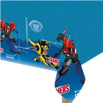 Transformers Plastic Tablecover - 1.2m x 1.8m